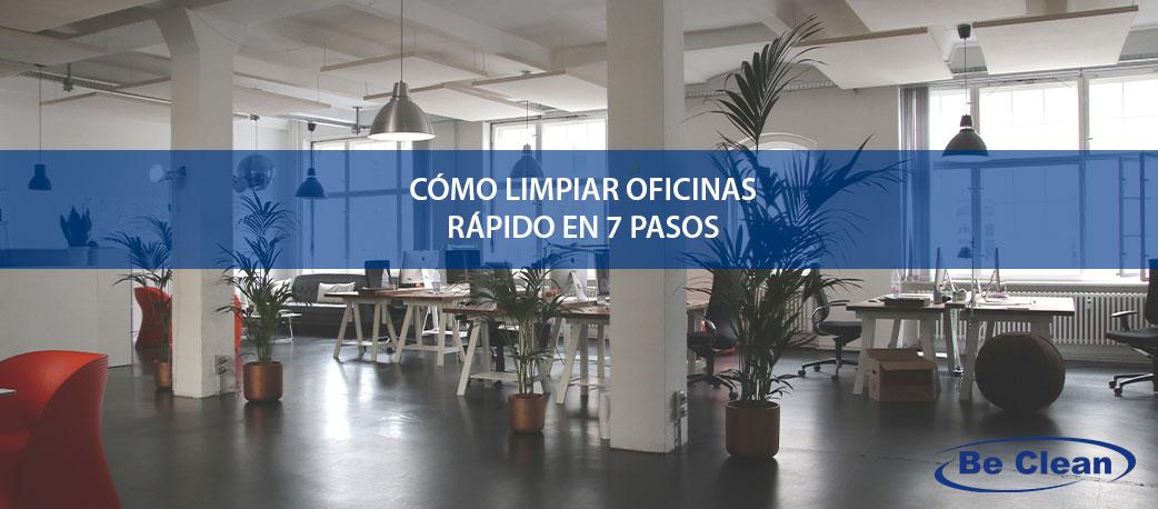 como-limpiar-oficinas-rapido