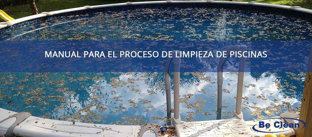 manual de limpieza de piscinas
