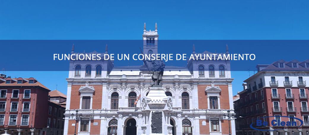 funciones de un conserje de ayuntamiento