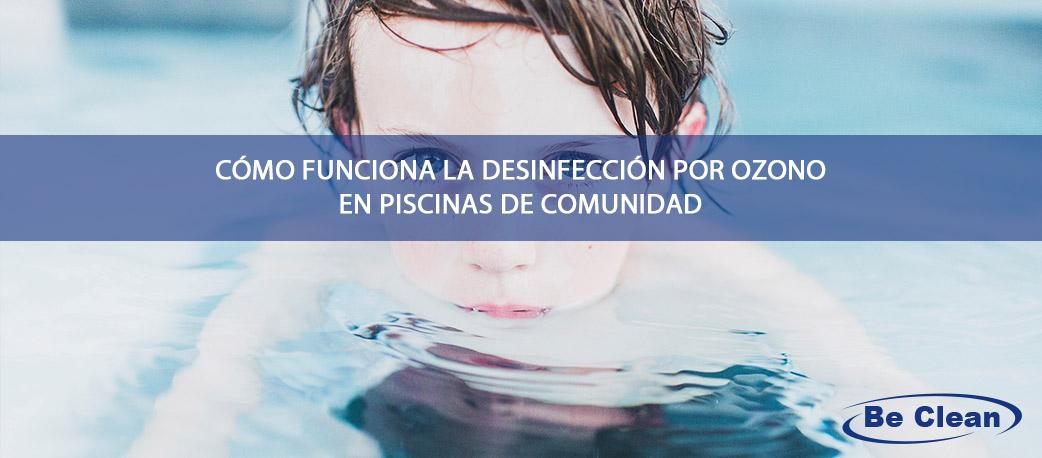 desinfección por ozono en piscinas
