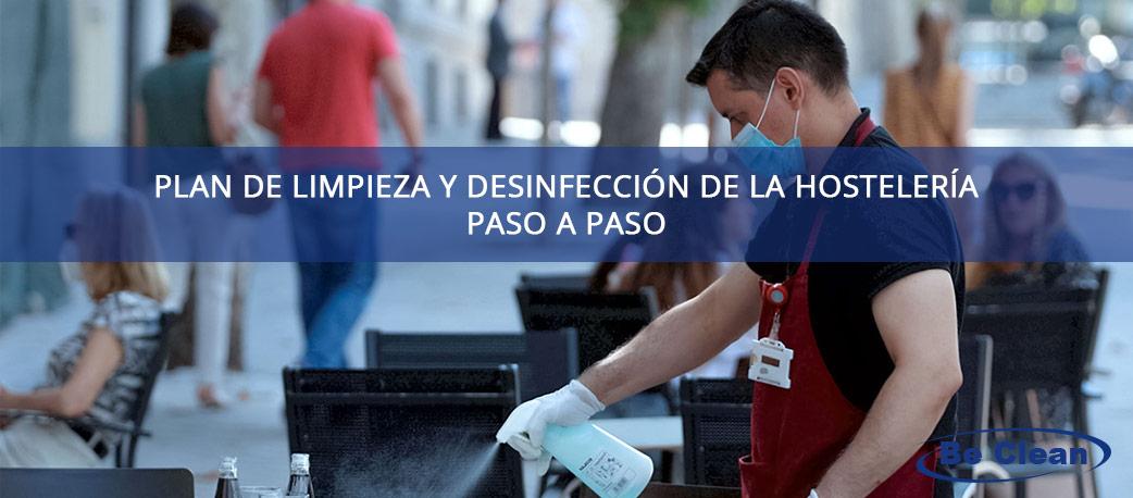 plan de limpieza y desinfección para hostelería